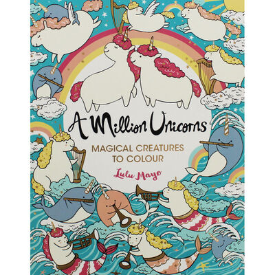A Million Unicorns: Magical Creatures to Colour image number 1