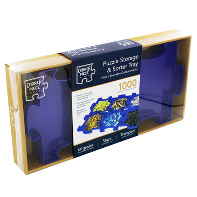 Jigsaw Puzzle Storage and Sorter Tray image number 1