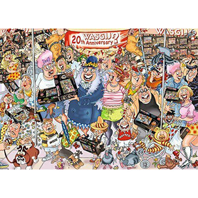 Wasgij Original 27 The 20th Party Parade 1000 Piece Jigsaw Puzzle image number 2