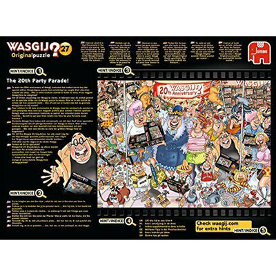 Wasgij Original 27 The 20th Party Parade 1000 Piece Jigsaw Puzzle image number 4