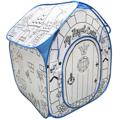 Colour Your Own Play Castle Tent image number 2