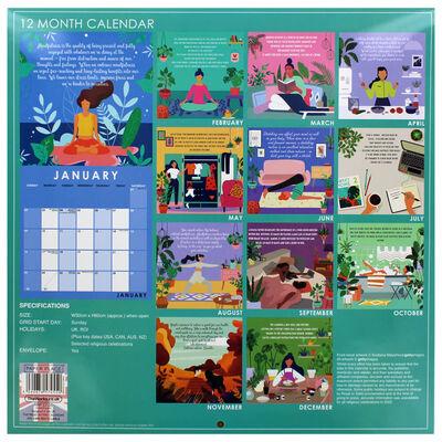 Mindfulness & Meditation 2022 Square Calendar image number 3