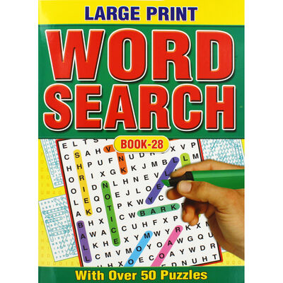 Large Print Wordsearch: Assorted Books 25-28 image number 4