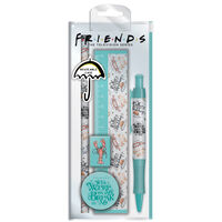 Friends Marl Stationery Set