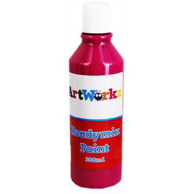 Cerise Readymix Paint - 300ml image number 1
