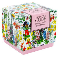 Floral 100 Piece Jigsaw Puzzle