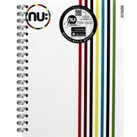NU A5 Craze Notebook - White