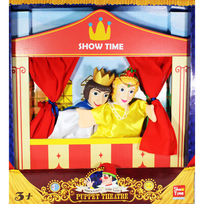 Prince and Princess Wooden Puppet Theatre image number 2