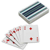 Cancer Research UK Striped Playing Cards - Supporting CRUK