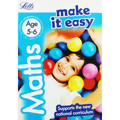 Letts Make It Easy Maths: Ages 5-6 image number 1