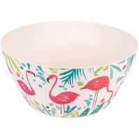 Flamingo Bamboo Eco Bowls - Set of 4