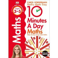 10 Minutes a Day Maths: Ages 3-5