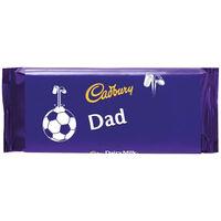 Cadbury Dairy Milk Chocolate Bar 110g - Dad Football