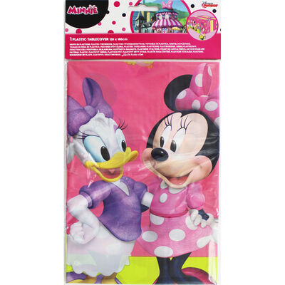 Minnie Mouse Plastic Table Cover image number 1