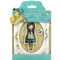 Santoro 3 Piece Rubber Stamp Set - The Little Friend