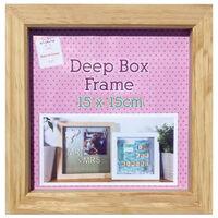 Pine Deep Box Frame - 15cm x 15cm