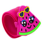 Watermelon Fruitopia Scented Snap Band Bracelet image number 1
