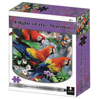 Flight of the Macaws 1000 Piece Jigsaw Puzzle