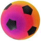 Mini Rainbow Inflated Sports Ball: Assorted image number 2