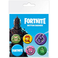 Fortnite Button Badges: Pack of 6