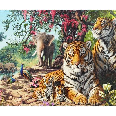Tiger Sanctuary 1000 Piece Jigsaw Puzzle image number 2