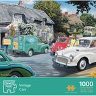 Vintage Cars 1000 Piece Jigsaw Puzzle image number 1
