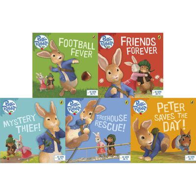 The Adventures of Peter Rabbit: 10 Kids Picture Books Bundle image number 3