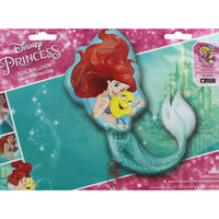 34 Inch Disney Little Mermaid Super Shape Helium Balloon