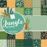Jungle Dreams Design Pad: 12 x 12 Inches