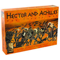 Hector and Achilles Strategy Card Game