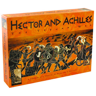 Hector and Achilles Strategy Card Game image number 1