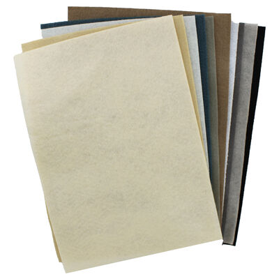 Sizzix A4 Neutral Felt Sheets - 10 Pack image number 2