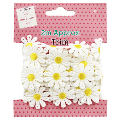 2m Daisy Chain Trim - Assorted image number 2