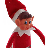 Vinyl Faced Elf Toy