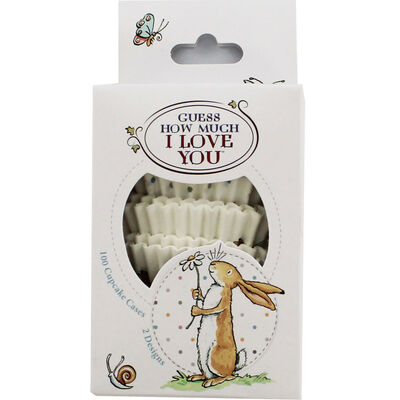 Guess How Much I Love You Cupcake Cases - Pack of 100 image number 1