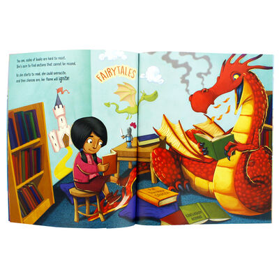 Do Not Bring Your Dragon To The Library image number 2
