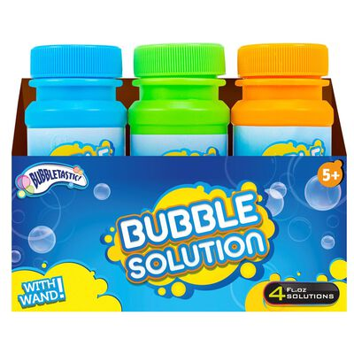 3 Bubble Bottles And Wands image number 1