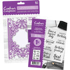 Crafters Companion Collection Deal Two - Royal Trellis image number 1
