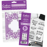 Crafters Companion Collection Deal Two - Royal Trellis