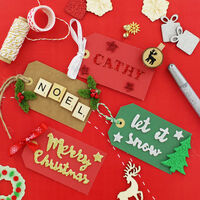 Craft Gift Tags - Pack Of 10