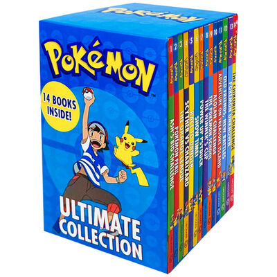 Pokemon Ultimate 14 Book Collection image number 1