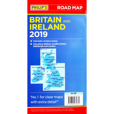 Britain and Ireland 2019 Road Map image number 2