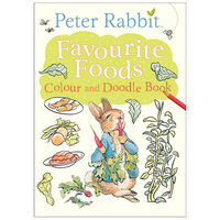 Peter Rabbit: Favourite Foods Colour and Doodle Book