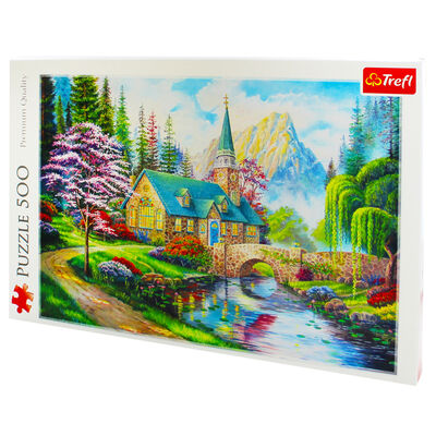 Woodland Seclusion 500 Piece Jigsaw Puzzle image number 3