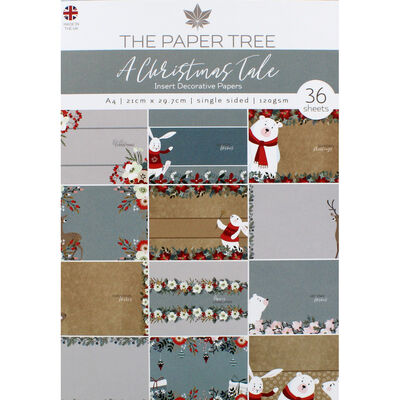 A Christmas Tale Insert Decorative Papers - 36 Sheets image number 1