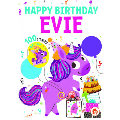 Happy Birthday Evie image number 1