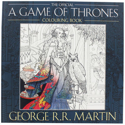 A Game of Thrones Colouring Book image number 1
