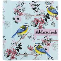Blue Tit Design Address Book