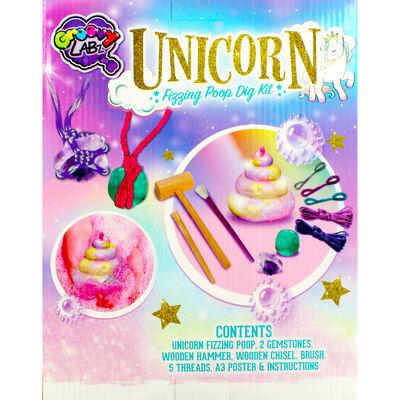 Unicorn Fizzing Poop Dig Kit image number 4