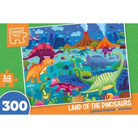 Land of the Dinosaurs 300 Piece Jigsaw Puzzle
